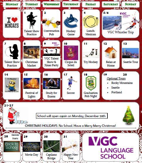 Activities December 2015-2